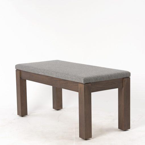 Holzbank mit Sitzpolster 40870, Gastro-Möbel,