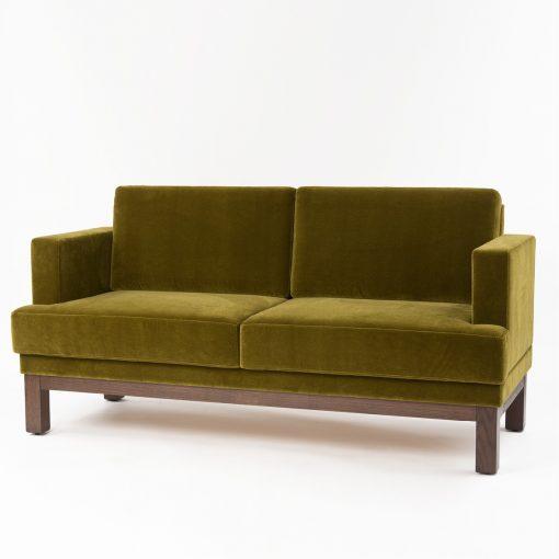 Sofabank 40888, Sofa mit Armlehnen, Möbel, Gastronomie