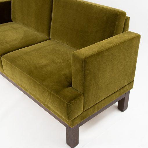 Bank 40885, Sofa mit Armlehnen, Möbel, Gastronomie
