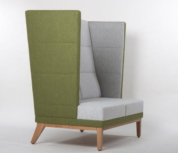Ohren Sofa 2-Sitzer, Ohren Sessel Bank 40900