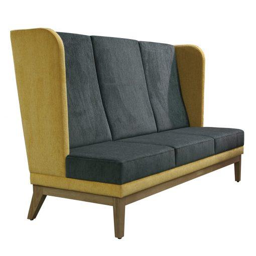 Ohren Sofa 40921, Dreisitzer, 3-Sitzer, Gastronomie Möbel