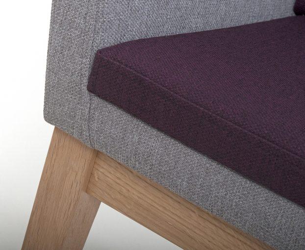 Sessel 40925, Bank, 1-Sitzer, Gastro-Möbel
