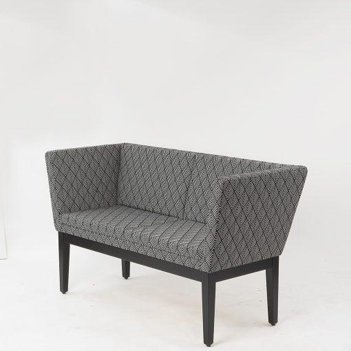 2-Sitzer Sofa, Bank 40925, Möbel Gastronomie, Zweisitzer