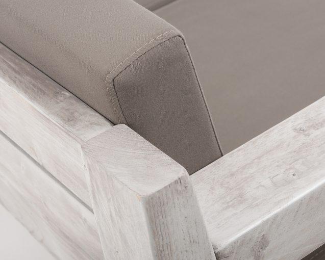 Sofa 40987-Bank, 2-Sitzer, Outdoor Bank, Terrassenmöbel,