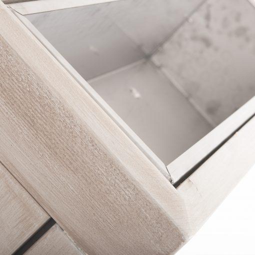 Raumteiler Outdoor Sicht- und Windschutz, Terrassenmöbel, Außengastronomie, Massivholz Raumteiler, Pflanzeinsatz, Sichtschutz, Windschutz