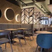 Einrichtung Bäckerei Café Moss Stuhlfabrik Schnieder Gastro Möbel