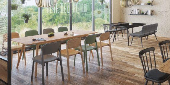 Pausenraum Aufenthaltsraum Stühle Tische Sitzbänke Stuhlfabrik Schnieder