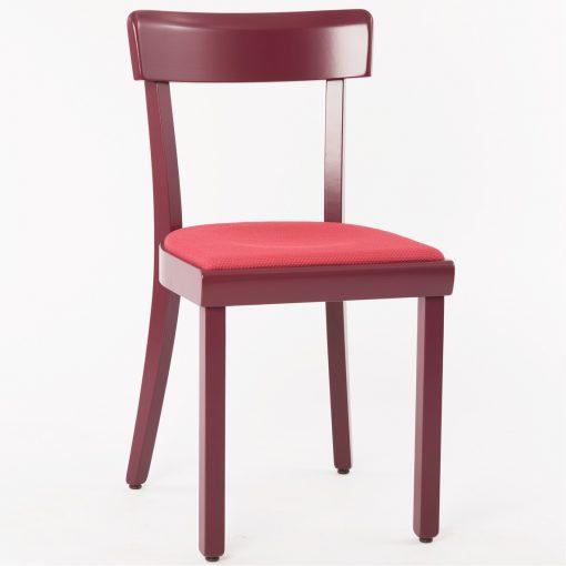 Holzstuhl mit Sitzpolster 750 Stuhlfabrik Schnieder