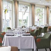 Frühstücksraum Hotel Rosenstock Fischen im Allgäu Stuhlfabrik Schnieder Möbel