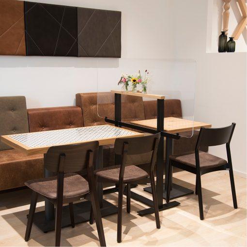 Hygiene Trennwand Stuhlfabrik Schnieder Gastronomie Moebel (ohne Deko)