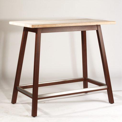 Stehtisch 31101, Massivholz, Tischplatte, Gastro-Möbel