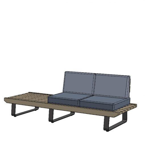 Terrassenmöbel Sitzbank Tische 2022 Stuhlfabrik Schnieder