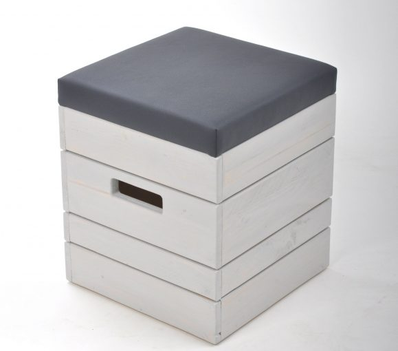 Hocker Außengastronomie 10985 mit Polstersitz Outdoor-Möbel, Outdoormöbel