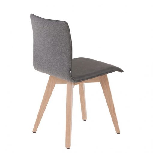 Gastro-Stuhl Lotte, Polsterschale, Möbel