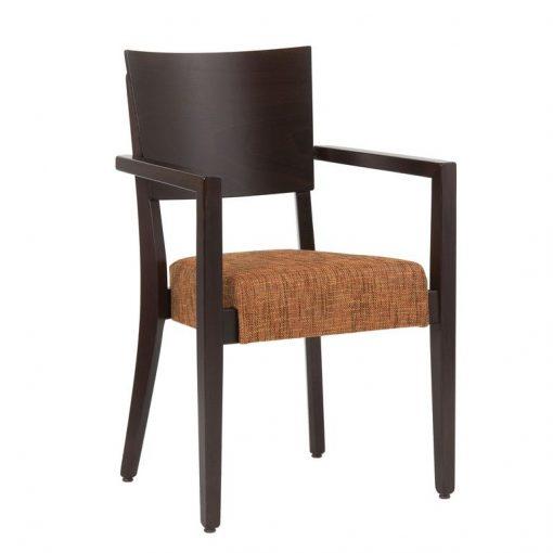 Stapelstuhl mit Armlehnen Sicilia 12448, Gastro-Stuhl, Möbel