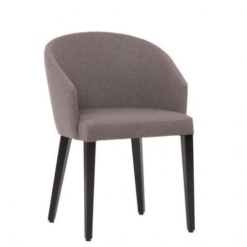 Sessel Gloria, Stuhl mit Armlehnen, Möbel, Gastronomiestuhl