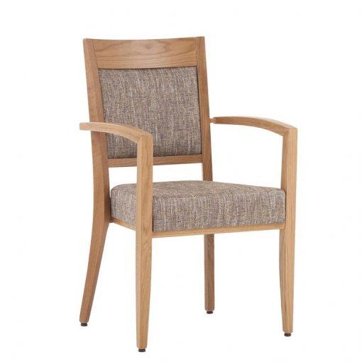 Stapelstuhl Frieda 12882, Stuhl mit Armlehnen, Möbel, Schnieder Stühle