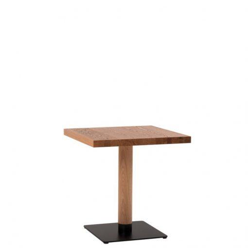 Gastronomie Tisch, Massivholz, Säulentisch, Möbel