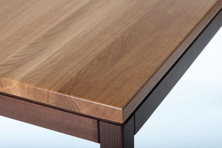 Tischplatte 35 mm Eiche massiv, Gastronomiemöbel, Tisch