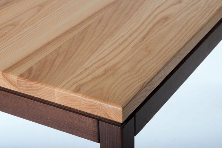 Tischplatte 35 mm Esche Braunker, massiv, Tisch