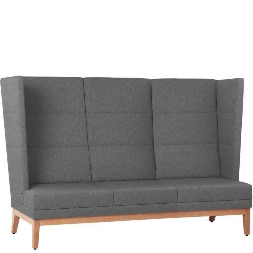 Ohren Sofa 3-Sitzer Bank 40900, Gastro-Möbel, Ohren Sessel