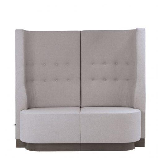Rundsofa, Ohren Sofa, Gastro-Möbel, 2-Sitzer