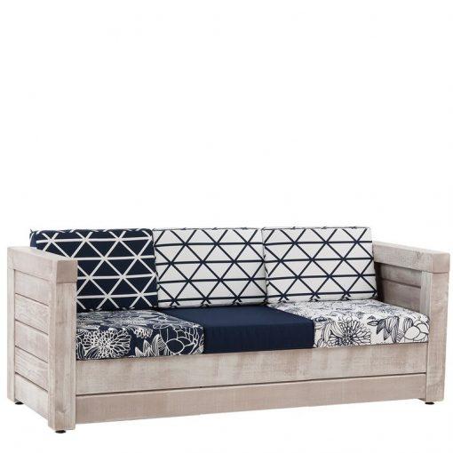 Sofa 40983, 3-Sitzer, Outdoor-Bank, Terrassenmöbel,