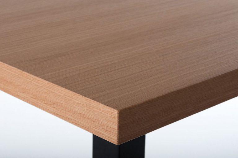 Tischplatte Eiche furniert Starfunierkante 2 mm