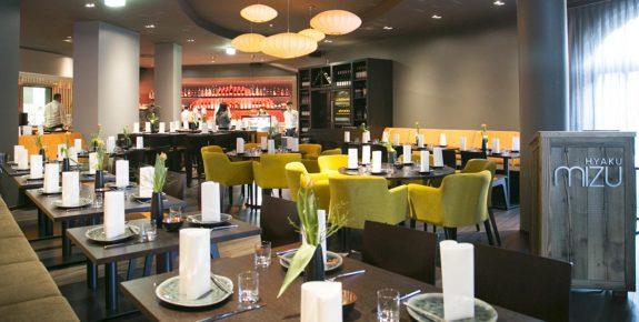 Restaurant-Einrichtung Hyaku Mizu Magdeburg